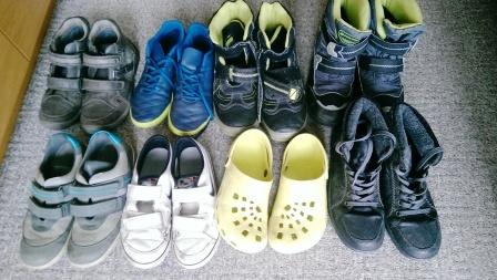 f95d71f6f99e darujem rôznu chlapčenskú obuv na donosenie. Všetky páry boli hodne nosené